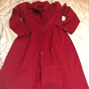 Brand new Gap red trench jacket